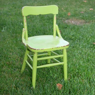 Lime Child S Chair