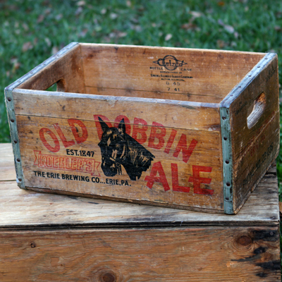 Old Dobbin Ale Crate