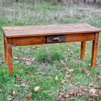 patience vintage post office table antique office table