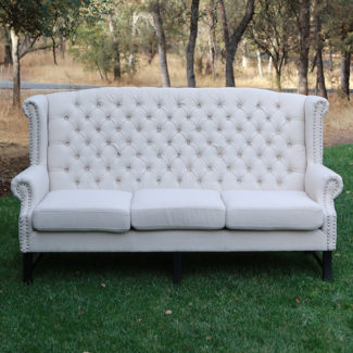 Cairo Linen Tufted Couches